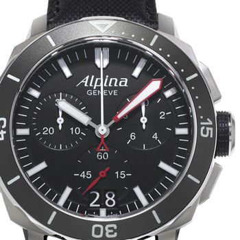 Alpina SEASTRONG Diver 300 Big Date Gents Chronograph