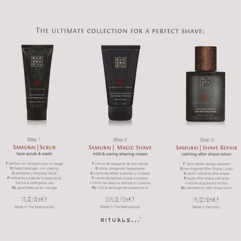 Rituals SAMURAI Men's Skincare Travel Set