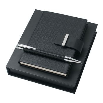 Emanuel Ungaro Notepad and Pen Gift Set