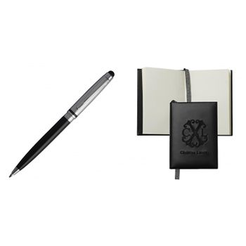 Christian Lacroix Logotype Notepad and Pen Gift Set