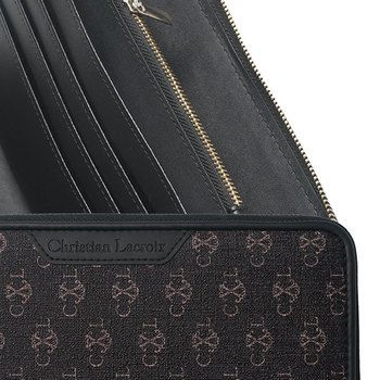 Christian Lacroix Pen and Brown Wallet Gift Set