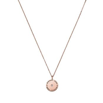 Michael Kors HERITAGE Necklace with Disc Pendant