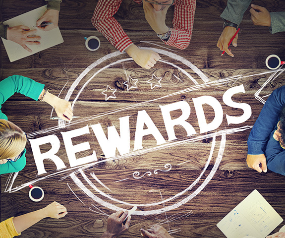 More than 3000 rewards for you